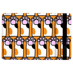 Cute Cat Hand Orange iPad Air 2 Flip