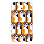 Cute Cat Hand Orange Samsung Galaxy Mega I9200 Hardshell Back Case Front