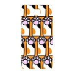 Cute Cat Hand Orange Samsung Galaxy Alpha Hardshell Back Case Front