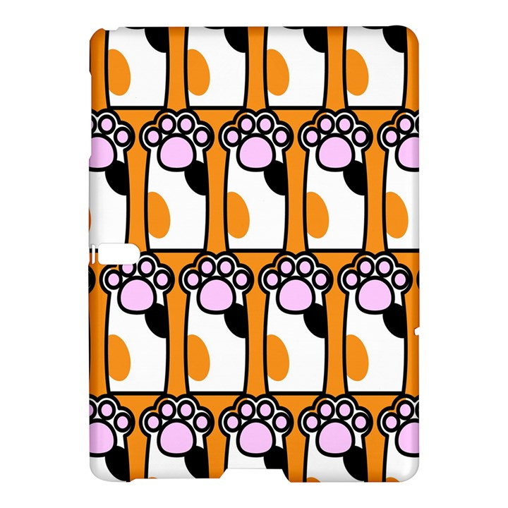 Cute Cat Hand Orange Samsung Galaxy Tab S (10.5 ) Hardshell Case