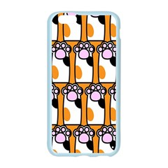 Cute Cat Hand Orange Apple Seamless iPhone 6/6S Case (Color)