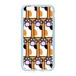 Cute Cat Hand Orange Apple Seamless iPhone 6/6S Case (Color) Front