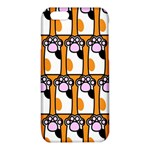 Cute Cat Hand Orange iPhone 6/6S TPU Case Front