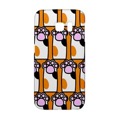 Cute Cat Hand Orange Galaxy S6 Edge