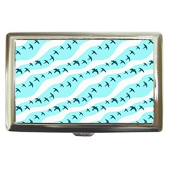 Darkl Ight Fly Blue Bird Cigarette Money Cases
