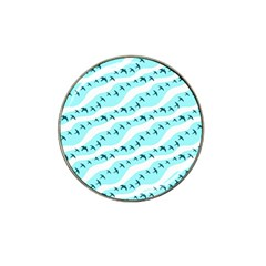 Darkl Ight Fly Blue Bird Hat Clip Ball Marker