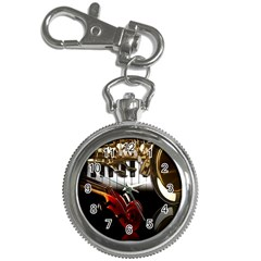 Classical Music Instruments Key Chain Watches