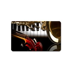 Classical Music Instruments Magnet (Name Card)