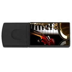 Classical Music Instruments USB Flash Drive Rectangular (1 GB)