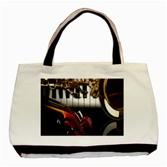 Classical Music Instruments Basic Tote Bag