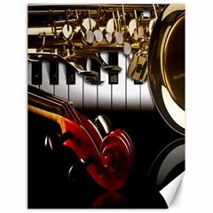 Classical Music Instruments Canvas 18  x 24