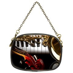 Classical Music Instruments Chain Purses (One Side)