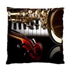 Classical Music Instruments Standard Cushion Case (Two Sides)