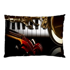 Classical Music Instruments Pillow Case