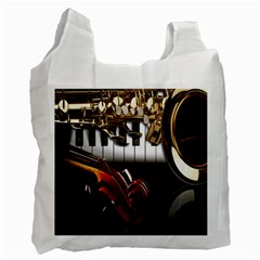 Classical Music Instruments Recycle Bag (One Side)
