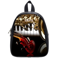 Classical Music Instruments School Bags (Small)