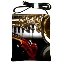 Classical Music Instruments Shoulder Sling Bags