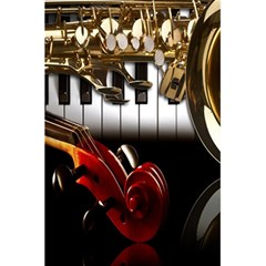 Classical Music Instruments 5.5  x 8.5  Notebooks