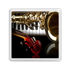 Classical Music Instruments Memory Card Reader (Square)