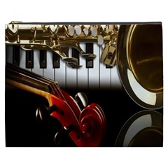 Classical Music Instruments Cosmetic Bag (XXXL)
