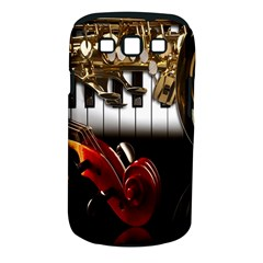 Classical Music Instruments Samsung Galaxy S III Classic Hardshell Case (PC+Silicone)