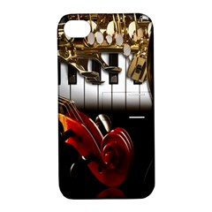Classical Music Instruments Apple iPhone 4/4S Hardshell Case with Stand