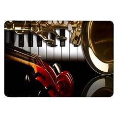 Classical Music Instruments Samsung Galaxy Tab 8.9  P7300 Flip Case