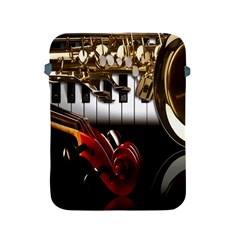 Classical Music Instruments Apple iPad 2/3/4 Protective Soft Cases
