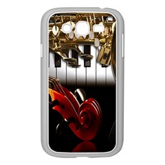 Classical Music Instruments Samsung Galaxy Grand DUOS I9082 Case (White)