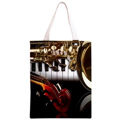 Classical Music Instruments Classic Light Tote Bag