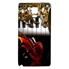Classical Music Instruments Galaxy Note 4 Back Case