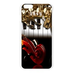 Classical Music Instruments Apple Seamless iPhone 6 Plus/6S Plus Case (Transparent)