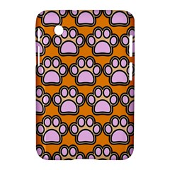 Dog Foot Orange Soles Feet Samsung Galaxy Tab 2 (7 ) P3100 Hardshell Case