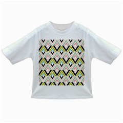 Chevron Pink Green Copy Infant/Toddler T-Shirts