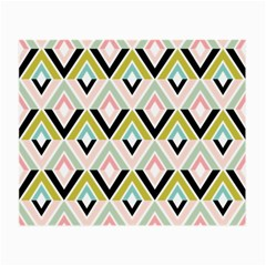 Chevron Pink Green Copy Small Glasses Cloth (2-Side)