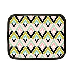 Chevron Pink Green Copy Netbook Case (Small)