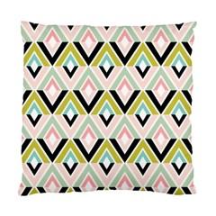 Chevron Pink Green Copy Standard Cushion Case (Two Sides)