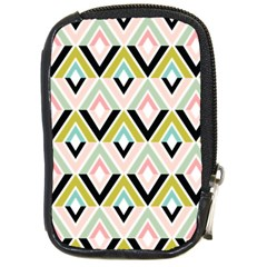 Chevron Pink Green Copy Compact Camera Cases