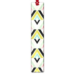 Chevron Pink Green Copy Large Book Marks