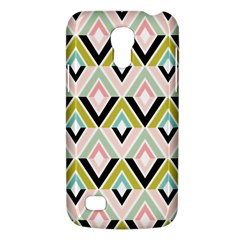 Chevron Pink Green Copy Galaxy S4 Mini