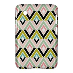 Chevron Pink Green Copy Samsung Galaxy Tab 2 (7 ) P3100 Hardshell Case