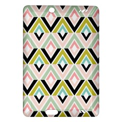 Chevron Pink Green Copy Amazon Kindle Fire HD (2013) Hardshell Case