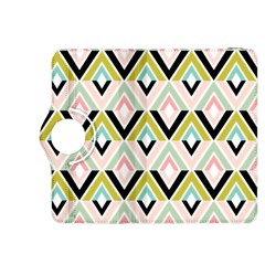 Chevron Pink Green Copy Kindle Fire HDX 8.9  Flip 360 Case