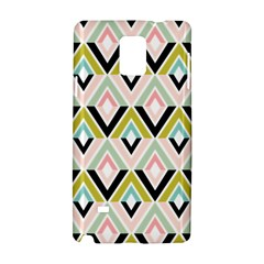 Chevron Pink Green Copy Samsung Galaxy Note 4 Hardshell Case