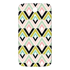 Chevron Pink Green Copy Samsung Galaxy Mega I9200 Hardshell Back Case