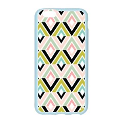 Chevron Pink Green Copy Apple Seamless iPhone 6/6S Case (Color)