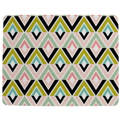 Chevron Pink Green Copy Jigsaw Puzzle Photo Stand (Rectangular)