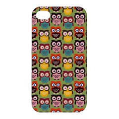 Eye Owl Colorful Cute Animals Bird Copy Apple iPhone 4/4S Hardshell Case