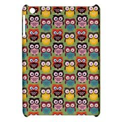 Eye Owl Colorful Cute Animals Bird Copy Apple iPad Mini Hardshell Case