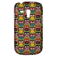 Eye Owl Colorful Cute Animals Bird Copy Galaxy S3 Mini